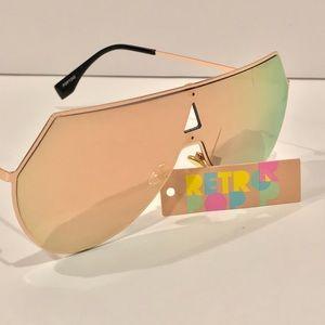 Retro Pop Futuristic Fully Mirrored Sunglasses 🕶